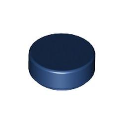 Dark Blue Tile, Round 1 x 1 - used