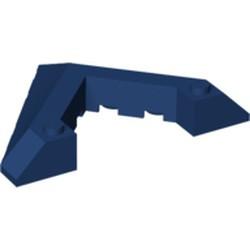 Dark Blue Wedge 6 x 8 Pointed Cutout