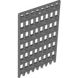 Dark Bluish Gray Door 1 x 8 x 12 Castle Gate (Portcullis)