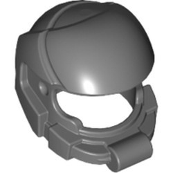 Dark Bluish Gray Minifigure, Headgear Helmet Space - used