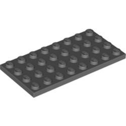 Dark Bluish Gray Plate 4 x 8 - used