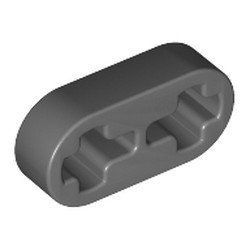 Dark Bluish Gray Technic, Liftarm Thin 1 x 2 - Axle Holes