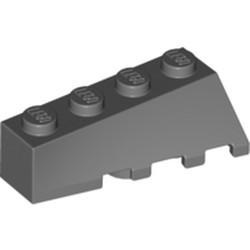 Dark Bluish Gray Wedge 4 x 2 Sloped Left
