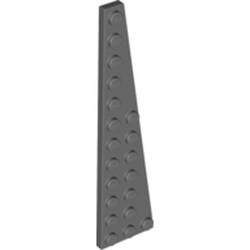 Dark Bluish Gray Wedge, Plate 12 x 3 Right - new