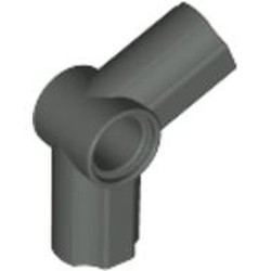 Dark Gray Technic, Axle and Pin Connector Angled #5 - 112.5 degrees - used