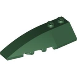Dark Green Wedge 6 x 2 Left - used