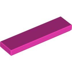 Dark Pink Tile 1 x 4