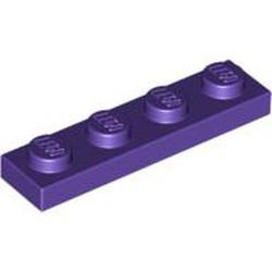 Dark Purple Plate 1 x 4 - used