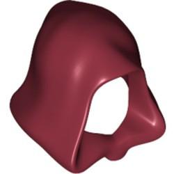 Dark Red Minifigure, Headgear Hood - used