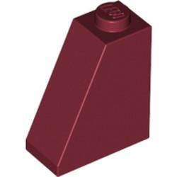 Dark Red Slope 65 2 x 1 x 2 - used