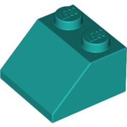 Dark Turquoise Slope 45 2 x 2 - new