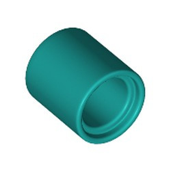 Dark Turquoise Technic, Liftarm Thick 1 x 1 - [Formerly Connector Pin Round (1L Spacer) - new]