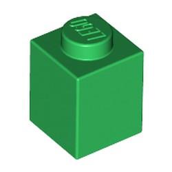 Green Brick 1 x 1 - used