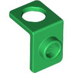 Green Minifigure, Neck Bracket with Back Stud - Thin Back Wall - used