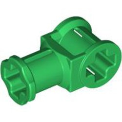 Green Technic, Axle Connector with Axle Hole - used