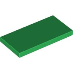 Green Tile 2 x 4 - new