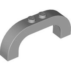 Light Bluish Gray Brick, Arch 1 x 6 x 2 Curved Top - used