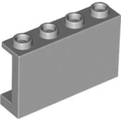 Light Bluish Gray Panel 1 x 4 x 2 with Side Supports - Hollow Studs