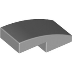 Light Bluish Gray Slope, Curved 2 x 1 - new