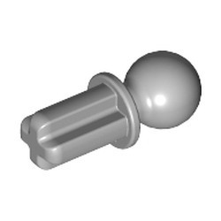 Light Bluish Gray Technic, Axle 1 with Tow Ball - new
