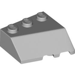 Light Bluish Gray Wedge 3 x 3 Sloped Left