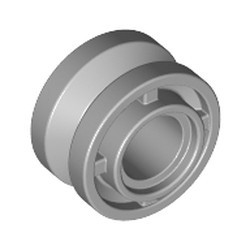 Light Bluish Gray Wheel 11mm D. x 8mm with Center Groove