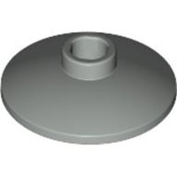 Light Gray Dish 2 x 2 Inverted (Radar)