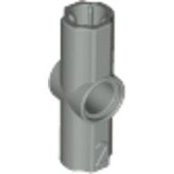 Light Gray Technic, Axle and Pin Connector Angled #2 - 180 degrees