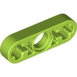 Lime Technic, Liftarm 1 x 3 Thin - used