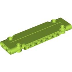 Lime Technic, Panel Plate 3 x 11 x 1