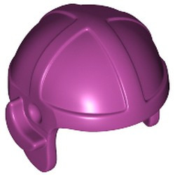 Magenta Minifigure, Headgear Cap, Aviator - used