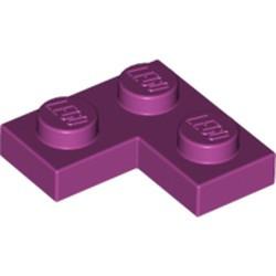 Magenta Plate 2 x 2 Corner