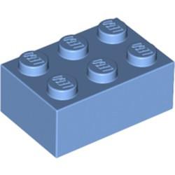 Medium Blue Brick 2 x 3
