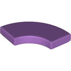 Medium Lavender Tile, Round Corner 2 x 2 Macaroni - new