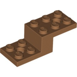 Medium Nougat Bracket 5 x 2 x 1 1/3 with 2 Holes