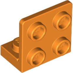 Orange Bracket 1 x 2 - 2 x 2 Inverted - used