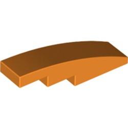Orange Slope, Curved 4 x 1