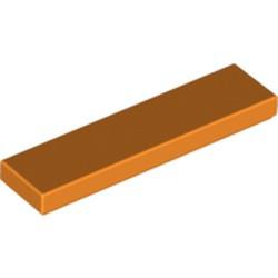 Orange Tile 1 x 4 - used
