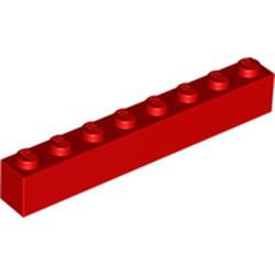 Red Brick 1 x 8