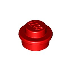 Red Plate, Round 1 x 1 - used