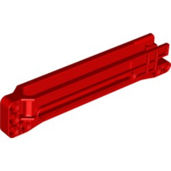 Red Technic, Gear Rack 1 x 14 x 2 Housing - used