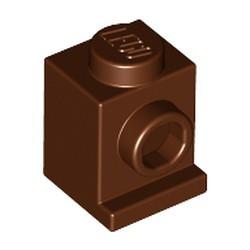 Reddish Brown Brick, Modified 1 x 1 with Headlight