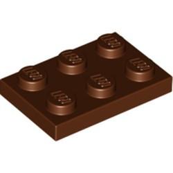 Reddish Brown Plate 2 x 3 - used