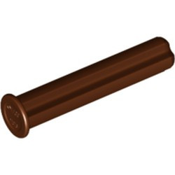 Reddish Brown Technic, Axle 3 with Stop - used