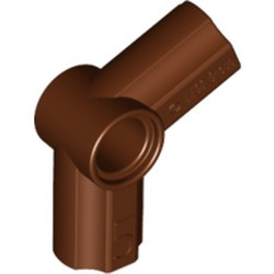 Reddish Brown Technic, Axle and Pin Connector Angled #5 - 112.5 degrees - used