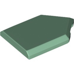 Sand Green Tile, Modified 2 x 3 Pentagonal - new