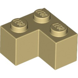 Tan Brick 2 x 2 Corner - new