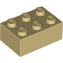 Tan Brick 2 x 3 - new