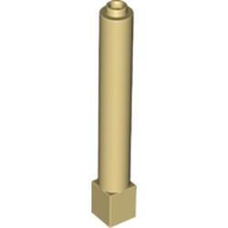 Tan Support 1 x 1 x 6 Solid Pillar - new