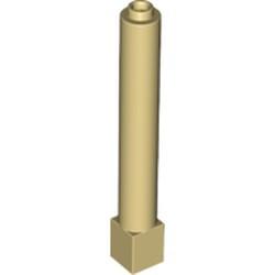 Tan Support 1 x 1 x 6 Solid Pillar
